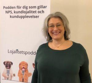 Margareta Boström gästar Lojalitetspodden